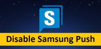 Disable Samsung Push