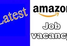 Latest Amazon Job Vacancies